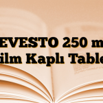 LEVESTO 250 mg Film Kaplı Tablet