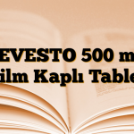 LEVESTO 500 mg Film Kaplı Tablet