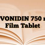 LEVONIDIN 750 mg Film Tablet