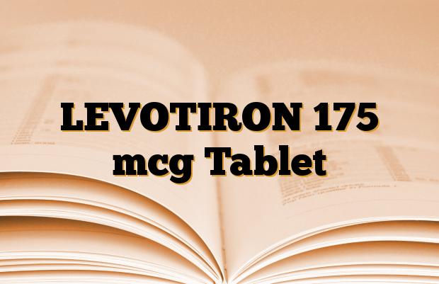 LEVOTIRON 175 mcg Tablet