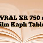 LEVRAL XR 750 mg Film Kaplı Tablet