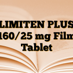 LIMITEN PLUS 160/25 mg Film Tablet