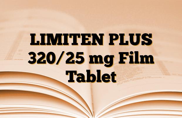 LIMITEN PLUS 320/25 mg Film Tablet