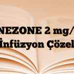 LINEZONE 2 mg/ml IV İnfüzyon Çözeltisi