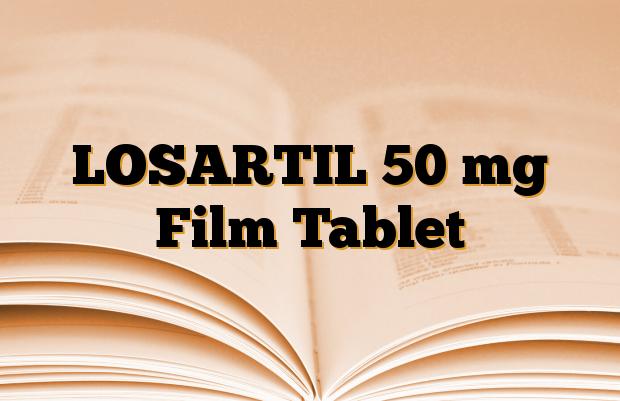 LOSARTIL 50 mg Film Tablet