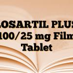 LOSARTIL PLUS 100/25 mg Film Tablet