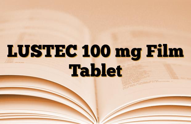 LUSTEC 100 mg Film Tablet