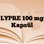 LYPRE 100 mg Kapsül