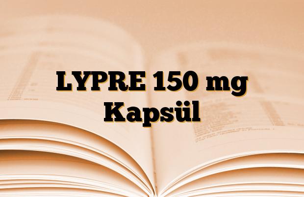 LYPRE 150 mg Kapsül