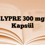 LYPRE 300 mg Kapsül
