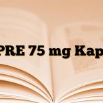 LYPRE 75 mg Kapsül