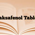 Laksafenol Tablet