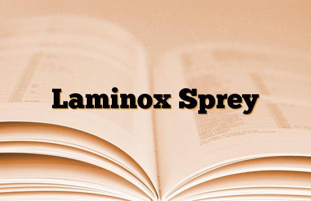 Laminox Sprey