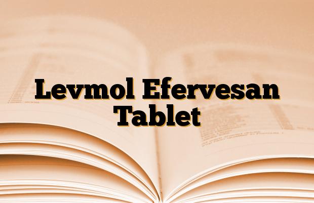 Levmol Efervesan Tablet