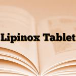 Lipinox Tablet