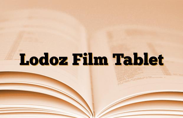 Lodoz Film Tablet