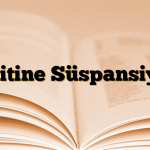 Loritine Süspansiyon