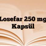 Losefar 250 mg Kapsül