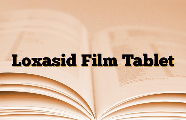 Loxasid Film Tablet