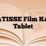 MATISSE Film Kaplı Tablet