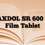 MAXDOL SR 600 mg Film Tablet
