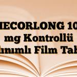 MECORLONG 100 mg Kontrollü Salınımlı Film Tablet