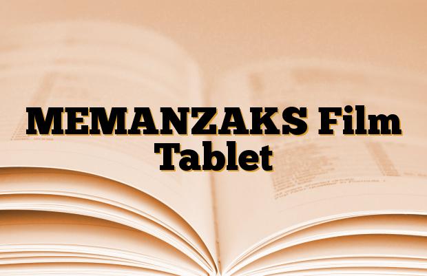 MEMANZAKS Film Tablet
