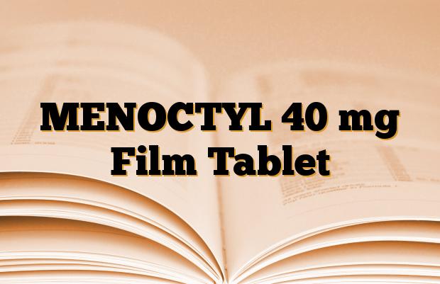 MENOCTYL 40 mg Film Tablet