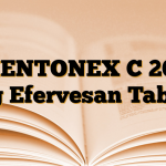 MENTONEX C 200 mg Efervesan Tablet
