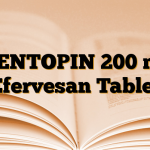 MENTOPIN 200 mg Efervesan Tablet