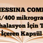 MESSINA COMBI 12/400 mikrogram İnhalasyon İçin Toz İçeren Kapsül