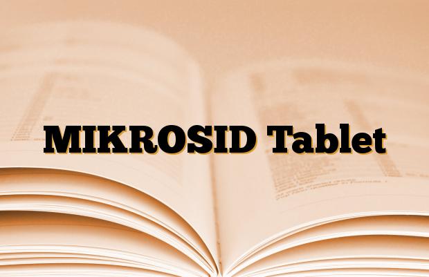 MIKROSID Tablet