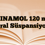 MINAMOL 120 mg Oral Süspansiyon