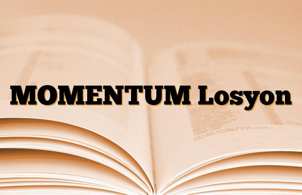MOMENTUM Losyon