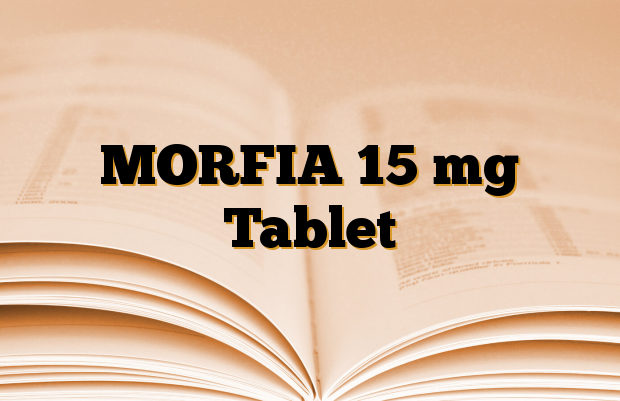 MORFIA 15 mg Tablet