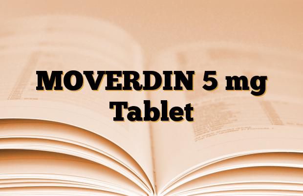 MOVERDIN 5 mg Tablet
