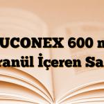 MUCONEX 600 mg Granül İçeren Saşe