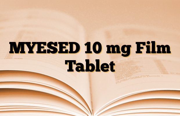 MYESED 10 mg Film Tablet