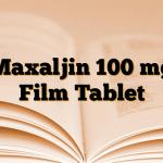 Maxaljin 100 mg Film Tablet