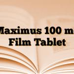 Maximus 100 mg Film Tablet