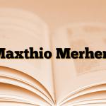Maxthio Merhem
