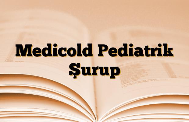 Medicold Pediatrik Şurup