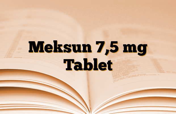 Meksun 7,5 mg Tablet
