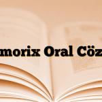 Memorix Oral Cözelti