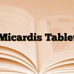 Micardis Tablet