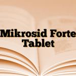 Mikrosid Forte Tablet