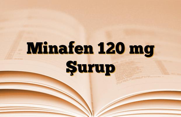 Minafen 120 mg Şurup