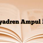 Miyadren Ampul İ.M