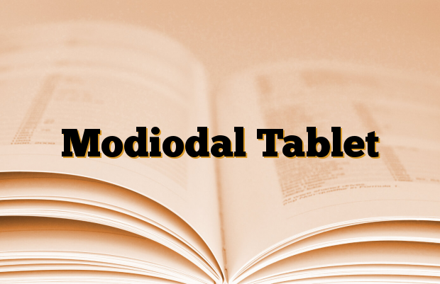 Modiodal Tablet