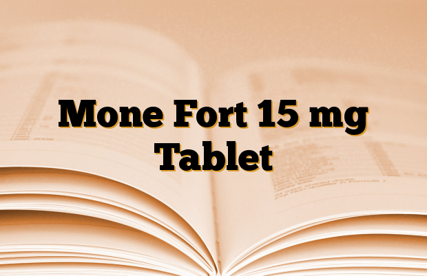 Mone Fort 15 mg Tablet